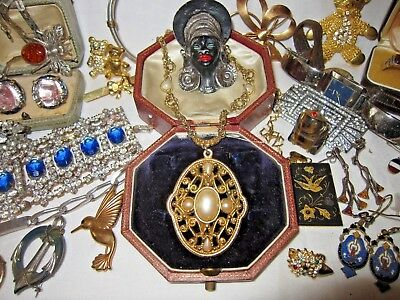 Mixed Lot of Antique & Vintage Jewellery/Silver ++++