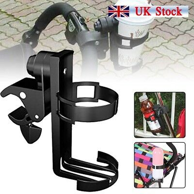 Universal Milk Bottle Cup Holder For Baby Stroller Pushchair Bicycle Buggy UK
