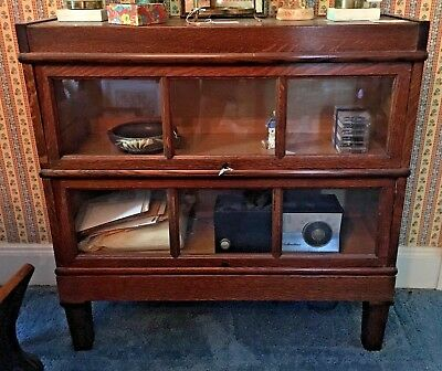 Vintage Macey 2 Tier Barrister Bookcase 35-8 Local Pickup in Anderson SC