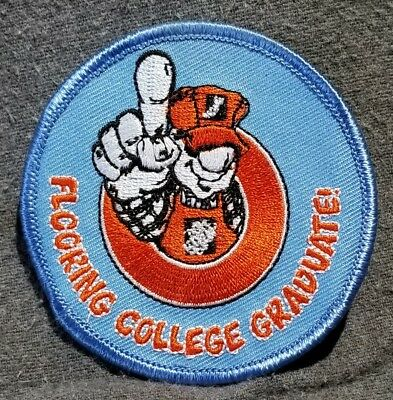 LMH PATCH Badge  HOME DEPOT Customer Service FLOORING COLLEGE GRADUATE Award 3""