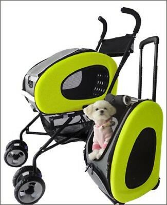 "Inno-Pet, Hundebuggy ""5 in 1"" -Pet Stroller- Limone"