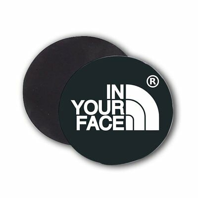 Imán fatalerror In your face Unisex Cool | Diseño | Badass Lifestyle