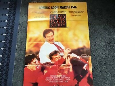 VHS Video Poster Dead Poets Society