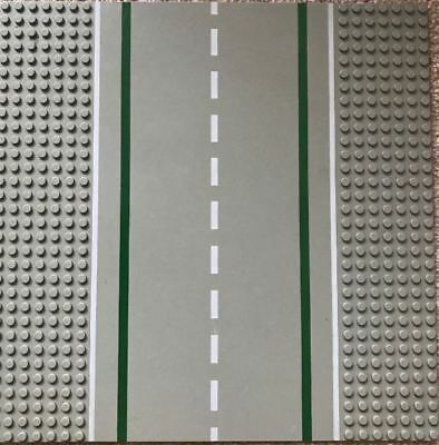ROAD T-Junction Grey LEGO 32 x 32 Stud Base Plate