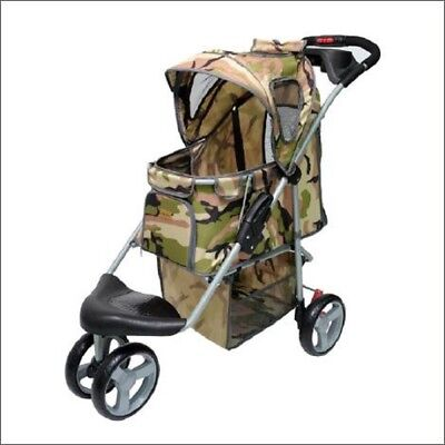 "Inno-Pet, Hundebuggy ""Camouflage"" Pet Stroller"