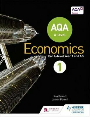AQA A-level Economics Book 1 by Ray Powell 9781471829789 (Paperback, 2015)