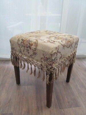 Bedroom Dressing Table Stool H 47 cm 39 cm Vintage Antique Furniture - Delivery
