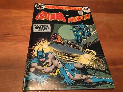 The Brave And The Bold: Batman And Wildcat # 110 Dc Original Vf / Nm 9.0