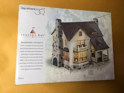 New In Box Seasons Bay Department 56 Inglenook Cottage #5 Product #53404
