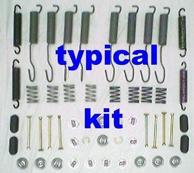52 brake springs & hardware for Rambler AMC 1958-1975 with 8 cylinder only
