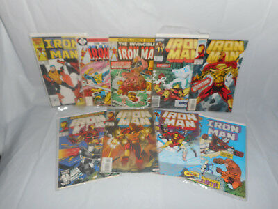 LOT Marvel Comics Group Book The Invincible IRON MAN Goliath Ghost War Machine +