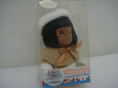 Retired 2000 Precious Moments World of Friendship Int'l Hi Babies Eskimo Doll