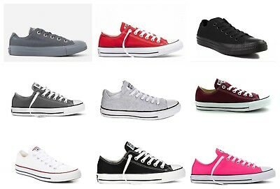 f1601522c5df New Converse Womens Chuck Taylor All Star Lace Up Canvas Low Top Shoes Size  6-