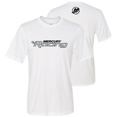 Mercury Racing Cool Dri Performance Logo Tee