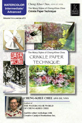Crinkle Paper Technique by Cheng-Khee Chee, Vol.5 - Art Education DVD