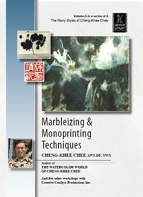 Marbleizing and Monoprinting Techniques by Cheng-Khee Chee, Vol.6 - Art DVD