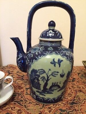 "Victoria Ware Ironstone Tall Kettle/Tea Pot Stands 12"" High. Excellent Condition"