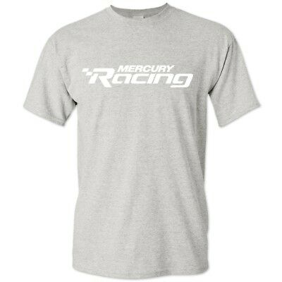 Mercury Racing Logo Tee Gray