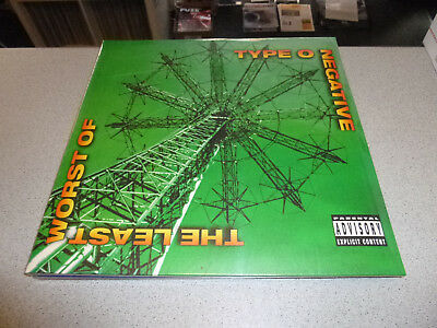 Type O Negative - The Least Worst Of  - 2LP Vinyl // Neu&OVP // Gatefold