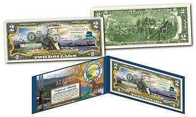 WWII Battle of The Bulge 75th Anniversary 1944-2019 Genuine Legal Tender $2 Bill