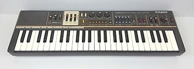 Casio CASIOTONE MT-68 VTG 80's Electronic Synthesizer Keyboard Power Cord Tested