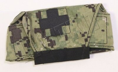 TQS AOR2 Military Emergency Tourniquet MET Pouch Medical MOLLE Navy SEAL NSW