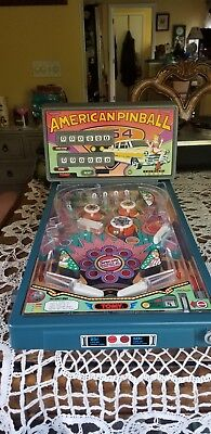 Tomy American Pinball Machine with Adapter Tested And Works Great!