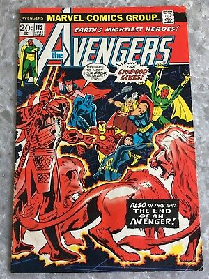 Avengers 112 1st Appearance of Mantis VG+ Condition