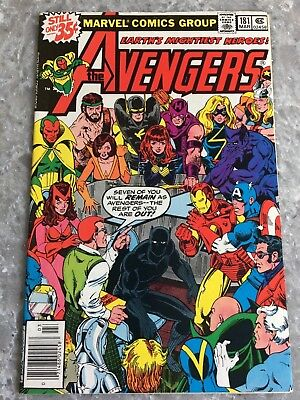 Avengers 181 1st Appearance of Scott Lang (Ant Man) Fine/VF Condition