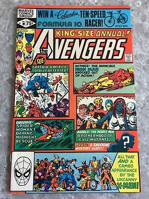 Avengers Annual 10 1st Appearance of Rogue & Madelyn Pryor VF+ Condition