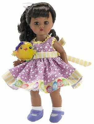 2012 Madame Alexander Wendy's Easter Egg Hunt Af. Am. Doll Style #64486!!