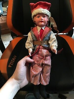 Vintage Foam Base Romeo Doll Excellent Condition 13""