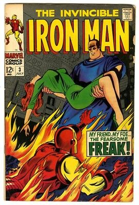 Iron Man #3 (1968) Fine New Marvel Silver Bronze Collection