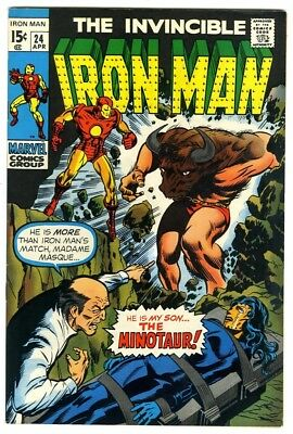 Iron Man #24 (1970) VF/NM New Marvel Silver Bronze Collection