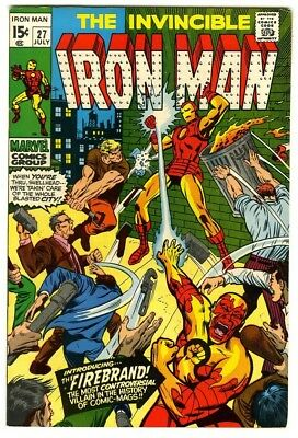 Iron Man #27 (1970) VF New Marvel Silver Bronze Collection