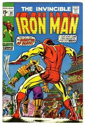 Iron Man #30 (1970) F/VF New Marvel Silver Bronze Collection