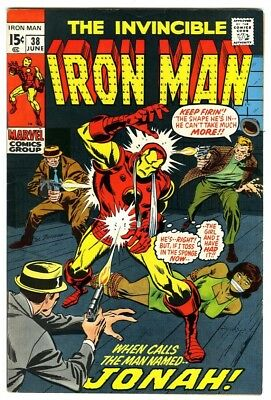 Iron Man #38 (1971) VF New Marvel Silver Bronze Collection