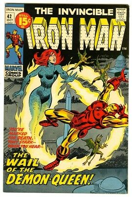 Iron Man #42 (1971) VF+ New Marvel Silver Bronze Collection