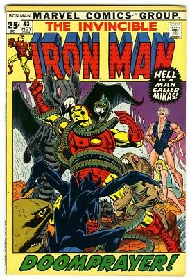 Iron Man #43 (1971) F/VF New Marvel Silver Bronze Collection