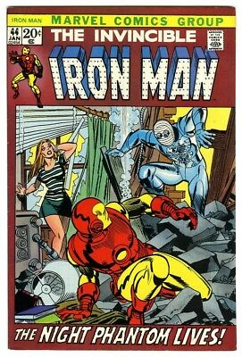 Iron Man #44 (1971) VF/NM New Marvel Silver Bronze Collection