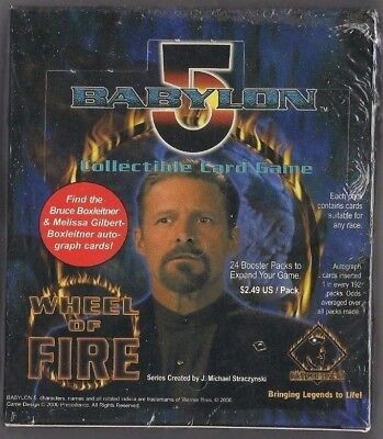 Babylon 5 CCG - Wheel of Fire - Booster Box
