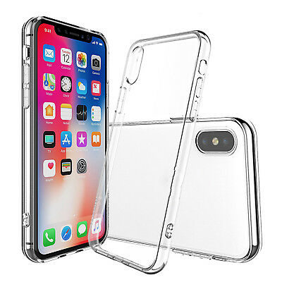For Apple iPhone XS Max XR Case 0.2mm Ultra Crystal Clear Soft Thin COVER