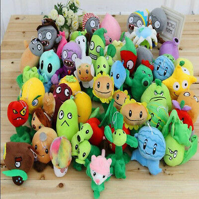 Plants vs Zombies 2 PVZBaby Staff Toy  Figures Plush Stuffed Soft Doll 12cm-35cm