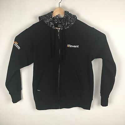 Amazon Web Services Mens Hoodie Large Black AWS 2015 re:Invent