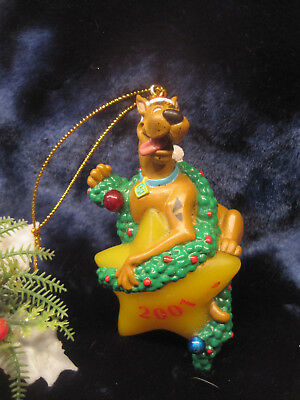 Scooby Doo 2001 Christmas Ornament Scooby on Christmas Star