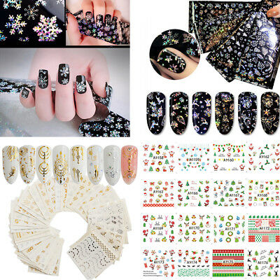 Christmas Nail Stamping Plates Nail Art Stamp Image Templates Manicure Tip Decor