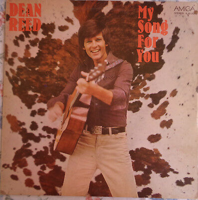 Amiga LP DEAN REED My Song For You 8 55 707 DDR 1979