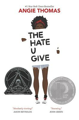 THE HATE U GIVE by Angie Thomas (Hardcover, 2017) - Free Shipping