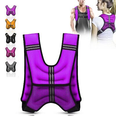 Xn8 Weighted Vest Home Gym Yoga Running Fitness Weight loss Strength Jacket 10kg