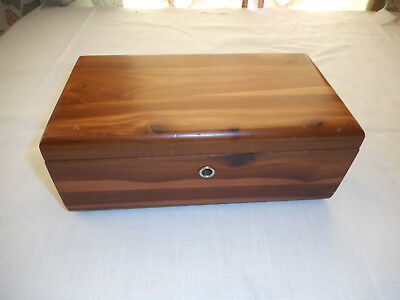 Vintage Lane Cedar Chest Trinket Box Taff Furniture Rushville Indiana